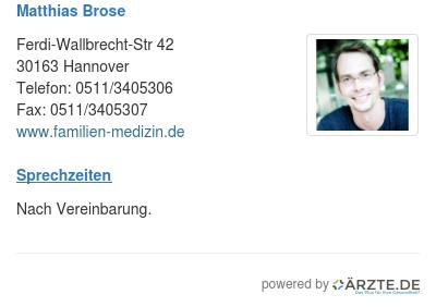 Matthias brose