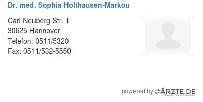 Dr med sophia holthausen markou 529278