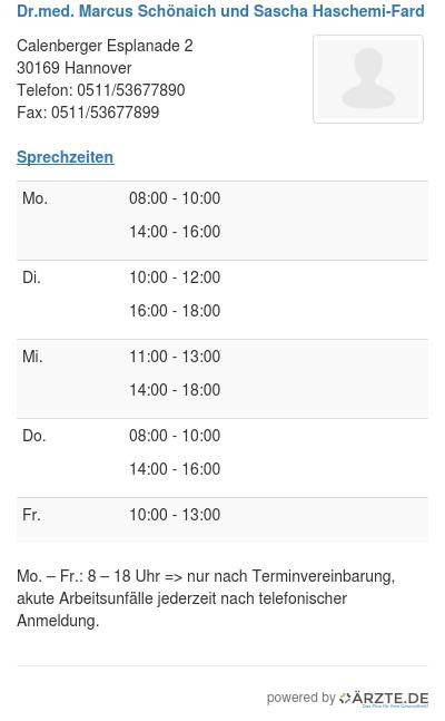 Dr med marcus schoenaich und sascha haschemi fard 514521