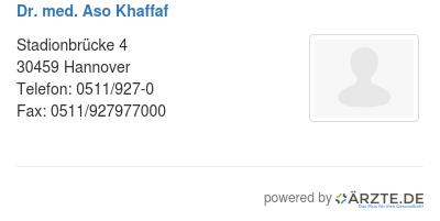 Dr med aso khaffaf 424893