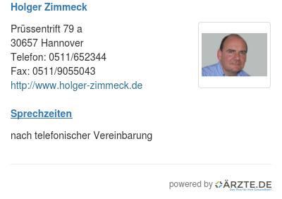 Holger zimmeck
