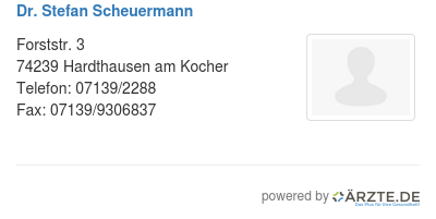 Dr stefan scheuermann 578813