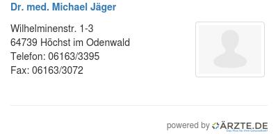 Dr med michael jaeger 580089