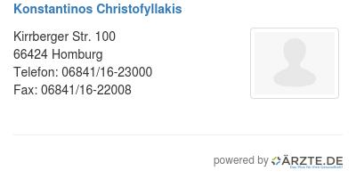 Konstantinos christofyllakis