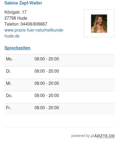 Sabine zapf walter