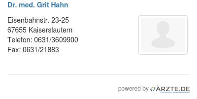 Dr Hahn Kaiserslautern