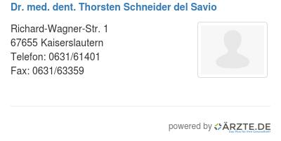 Schneider Del Savio