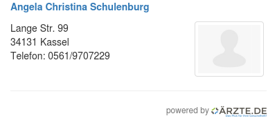 Angela christina schulenburg