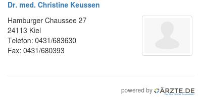 Dr Keussen Kiel