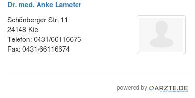 Dr med anke lameter 580128