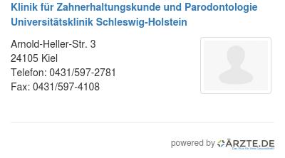 Klinik fuer zahnerhaltungskunde und parodontologie universitaetsklinik schleswig holstein 0e04226b 10a3 4b01 ab44 ca9a7d35f6e0