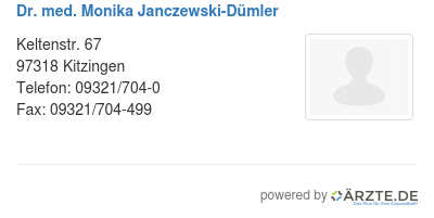 Dr med monika janczewski duemler