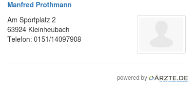 Manfred prothmann