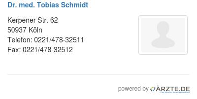 Dr med tobias schmidt 523061