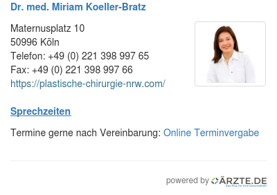 Dr med miriam koeller bratz 534772