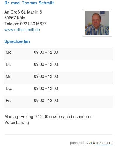 Dr med thomas schmitt 253982