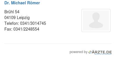 Dr michael roemer 580433