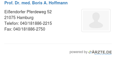 Prof dr med boris a hoffmann