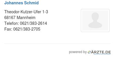 Johannes schmid 528892