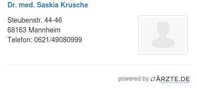 Dr med saskia krusche 579733