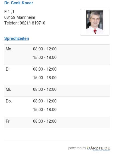 Dr cenk kocer