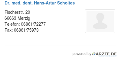 Dr Scholtes Merzig