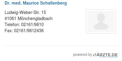 Dr med maurice schallenberg 578843