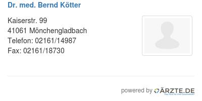 Kötter Mönchengladbach