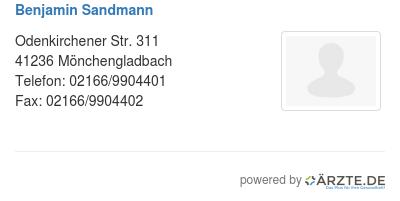 Benjamin sandmann
