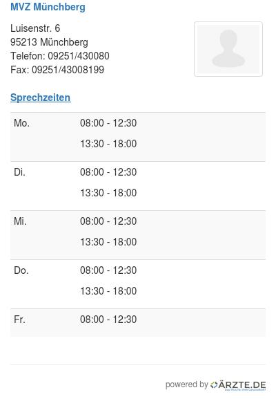Mvz muenchberg