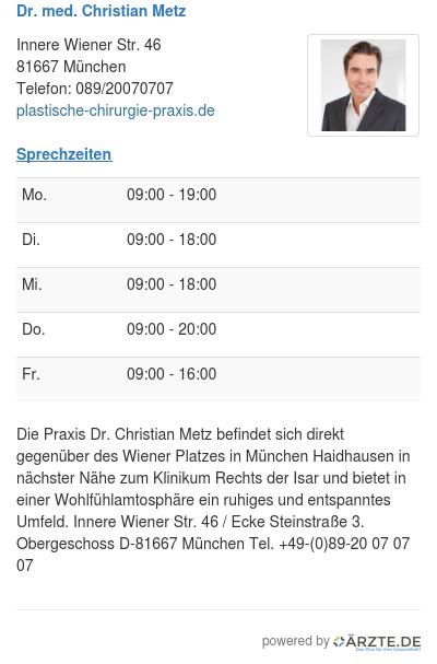 Dr med christian metz 269835