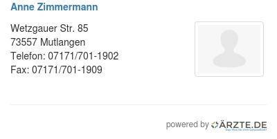 Anne zimmermann 529924