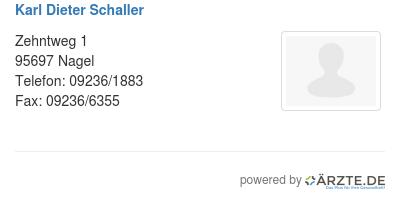 Karl dieter schaller