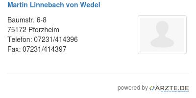 Martin linnebach von wedel