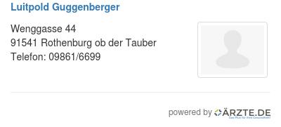 Luitpold guggenberger