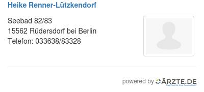 Heike renner luetzkendorf 580127