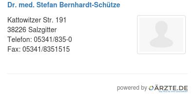 Dr med stefan bernhardt schuetze 536768