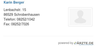 Karin berger 254039