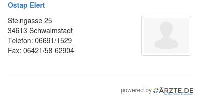 ostap elert in 34613 schwalmstadt zahnarzt aerzte. Black Bedroom Furniture Sets. Home Design Ideas