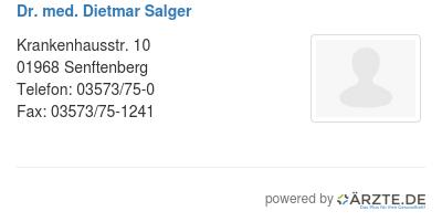 Dr med dietmar salger 580563