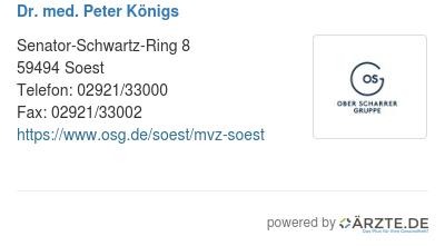 Dr Königs Soest