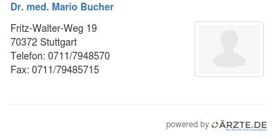 Dr med mario bucher 545810