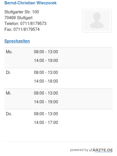 Bernd christian wieczorek