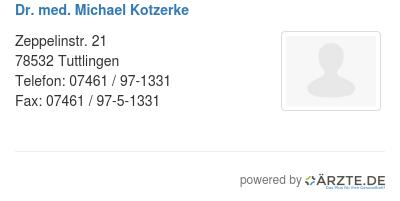 Dr med michael kotzerke 248824