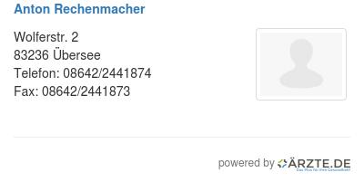 Anton rechenmacher 580622