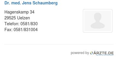 Dr med jens schaumberg 579258