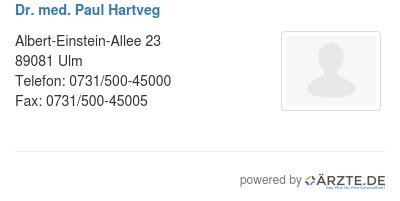 Dr med paul hartveg 556269