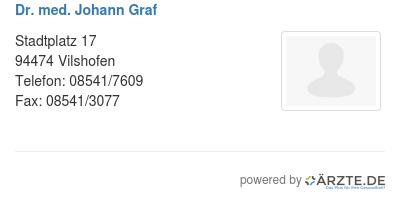 Dr med johann graf 253924