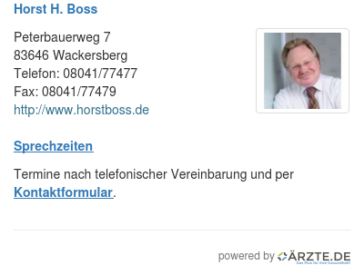 Horst h boss