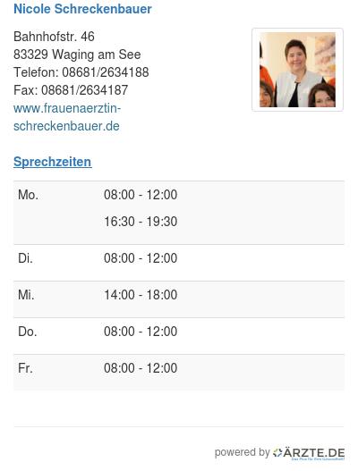 Nicole schreckenbauer